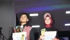 Pemenang Ogek Uning 2019 Andhika Rahman Nasution dan Sri Wahyu Ningsih