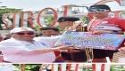 Wali Kota Sibolga Menyerahkan Hadiah Pemenang Lomba Triatlon Putra dan Putri