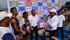 Wali Kota Sibolga Bersama Juara Triatlon DI Pelabuhan Lama