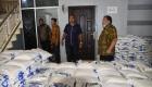Wali Kota Sibolga meninjau Sembako Yang Akan Dibagi Kepada Masyarakat Sibolga