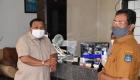 Keterangan Foto : Wali Kota Sibolga didamping Plt. Kadis Parpora