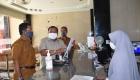 Keterangan Foto : Wali Kota Sibolga mencek hotel CN Darussalam Sibolga