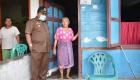 Keterangan Foto: Ketua Gugus Tugas Percepatan Penanganan Covid-19 Kota Sibolga H.M Syarfi Hutauruk mencek Masyarakat Penerima Bantuan Tahap 1 Di Ketapang