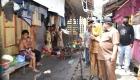 Keterangan Foto: Ketua Gugus Tugas Percepatan Penanganan Covid-19 Kota Sibolga H.M Syarfi Hutauruk mencek Masyarakat Penerima Bantuan Tahap 1 Di gang bagan Pasar Belakang