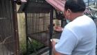 Keterangan Foto : Aktifitas H.M Syarfi Hutauruk Di Rumah Dinas Sebelum Buka Puasa