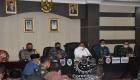 Keterangan Foto : H.M Syarfi Hutauruk Memimpin Sebuah Rapat Di Aula Nusantara Kantor Wali Kota Sibolga